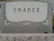 Eva M. <I>Senseney</I> Snader