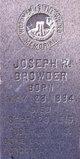 Joseph R Browder