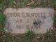 Profile photo:  Arthur C. Burdett, Jr