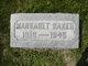 Margaret Lucille <I>Gleckler</I> Baker