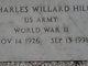 Charles Willard Hill