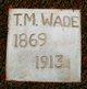 "Tobe M. """"Toby"""" Wade"