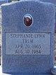 "Stephine Lynn ""Steph"" Trim"