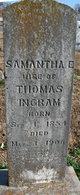 Samantha E <I>Hunton</I> Ingram