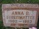 Anna B Streitmatter