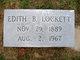 Edith Belle <I>Litchfield</I> Lockett