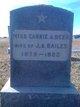 Profile photo:  Carrie A <I>Deer</I> Bailey