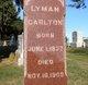 Lyman Carlton