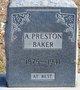 Profile photo:  Arthur Preston Baker
