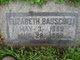 Elizabeth L <I>Gooddy</I> Bauschell