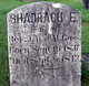 Shadrach E. Goss