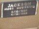 Profile photo:  Alice <I>Newhouse</I> Jackson