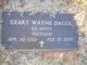 Geary Wayne Daggs