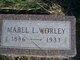 Mabel L. <I>Ayers</I> Worley