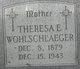 Theresa E <I>Zettwoch</I> Wohlschlaeger