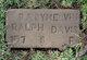 Baby Melvin Ralph Davis