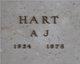 A. J. Hart