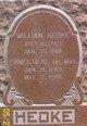 """Gottlieb Wilhelm """"William"""" Hedke"""