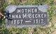 Profile photo:  Anna M. Becker