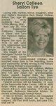 Sheryl Colleen <I>Sailors</I> Tye