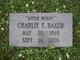 Profile photo:  Charlie Baker