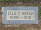 Ella Francis <I>Malone</I> Green