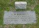 Sgt George Washington Barnett