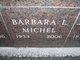 Profile photo:  Barbara L. Michel