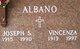 Profile photo:  Joseph S. Albano