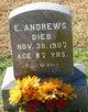 Profile photo:  E. Andrews