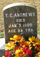 Profile photo:  T. C. Andrews