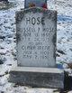 Clara Irene <I>Reed</I> Hose