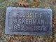 Flossie Fay <I>Hawk</I> Ackerman