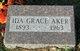 Profile photo:  Ida Grace <I>Thoreson</I> Aker