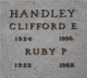 Ruby P <I>Stick</I> Handley