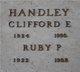 Clifford Edgar Handley