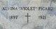 """Margaret Elvina """"Alvina Violet"""" Picard"""