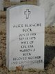 Profile photo:  Alice Blanche <I>Clements</I> Buck