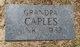 """Profile photo:  C. C. """"Grandpa/Cooney"""" Caples"""