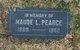 Profile photo:  Maude Lucille <I>Brinkman</I> Pearce