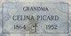 Celina Virginia <I>Choquette</I> Picard