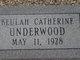 Beulah Catherine Underwood