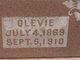 """Olivia Edith """"Olevie"""" <I>McKay</I> Westbrook"""