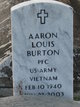 Profile photo:  Aaron Louis Burton