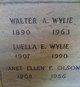 Walter A Wylie