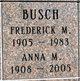 Profile photo:  Frederick M Busch