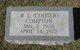 "Robert Louie ""Cooter"" Compton"