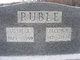 Susie Alice <I>Abshire</I> Ruble
