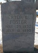 Profile photo:  Pryor L Foster