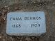 Profile photo:  Emma Dermon